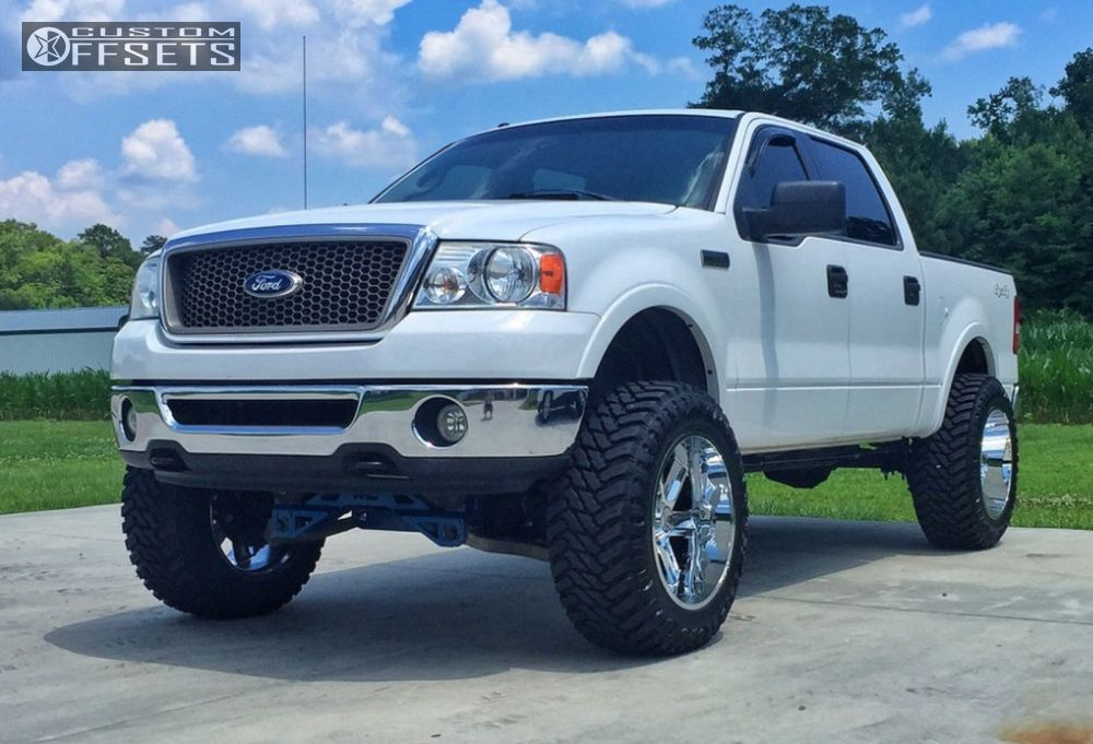 1 2006 F 150 Ford Suspension Lift 6 Hostile Switch Blade Chrome Super Aggressive 3 5