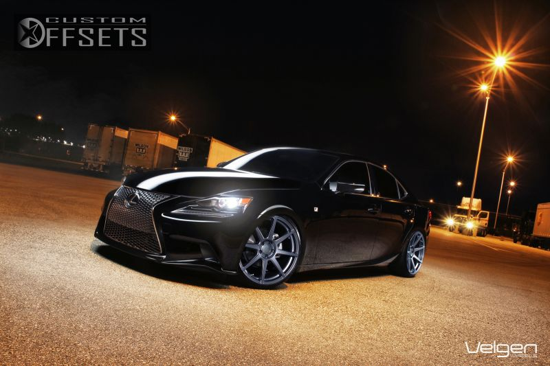 Wheel Offset 2013 Lexus Is 250 Flush Dropped 1 3 Custom Rims