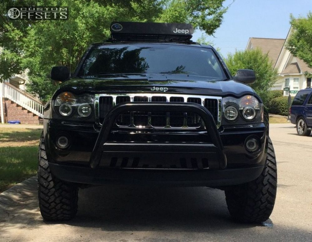Grand Cherokee Jeep Body Lift Xd Xd Black Aggressive Outside Fender