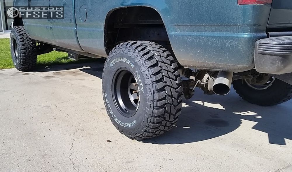 10 1995 K1500 Chevrolet Suspension Lift 6 Pro Comp Series 51 Black Super Aggressive 3 5