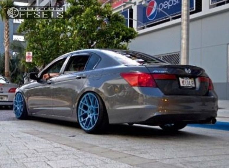 Wheel Offset 2011 Honda Accord Flush Dropped 1 3 Custom Rims