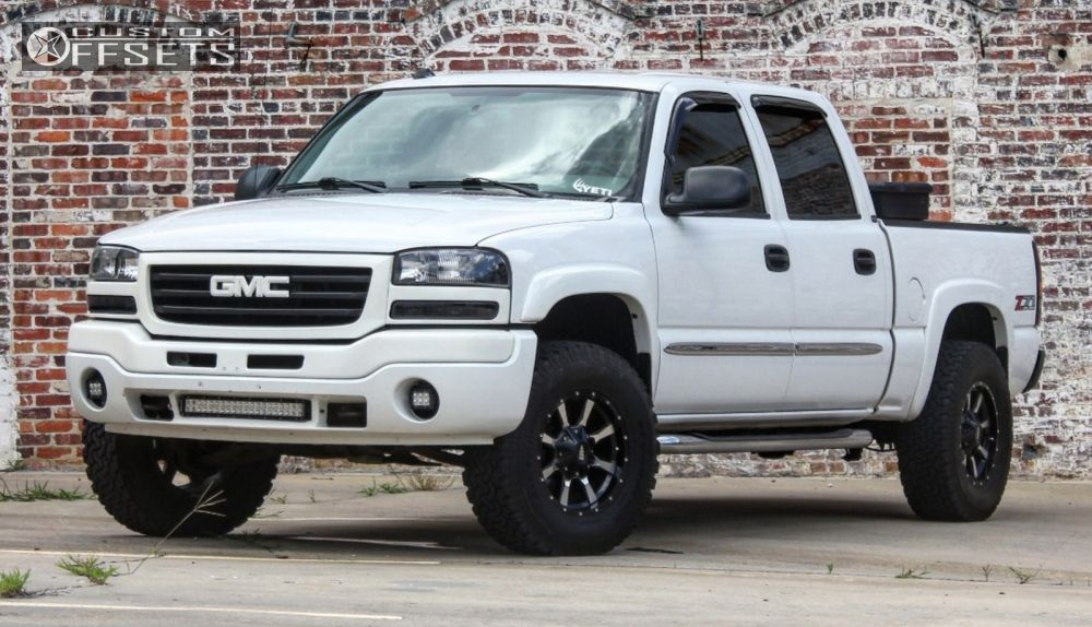 1 2004 Sierra 1500 Gmc Leveling Kit Moto Metal Mo970 Machined Accents Slightly Aggressive