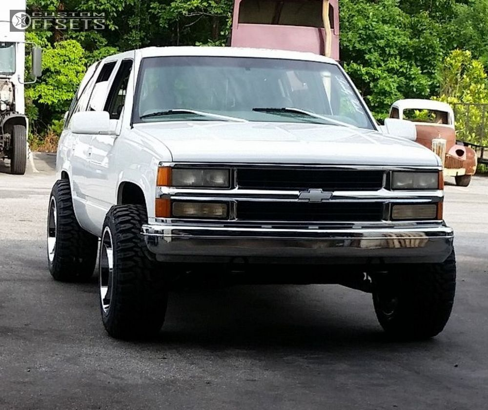 Tahoe 1999 chevy tahoe accessories : Wheel Offset 1999 Chevrolet Tahoe Super Aggressive 3 5 Stock ...