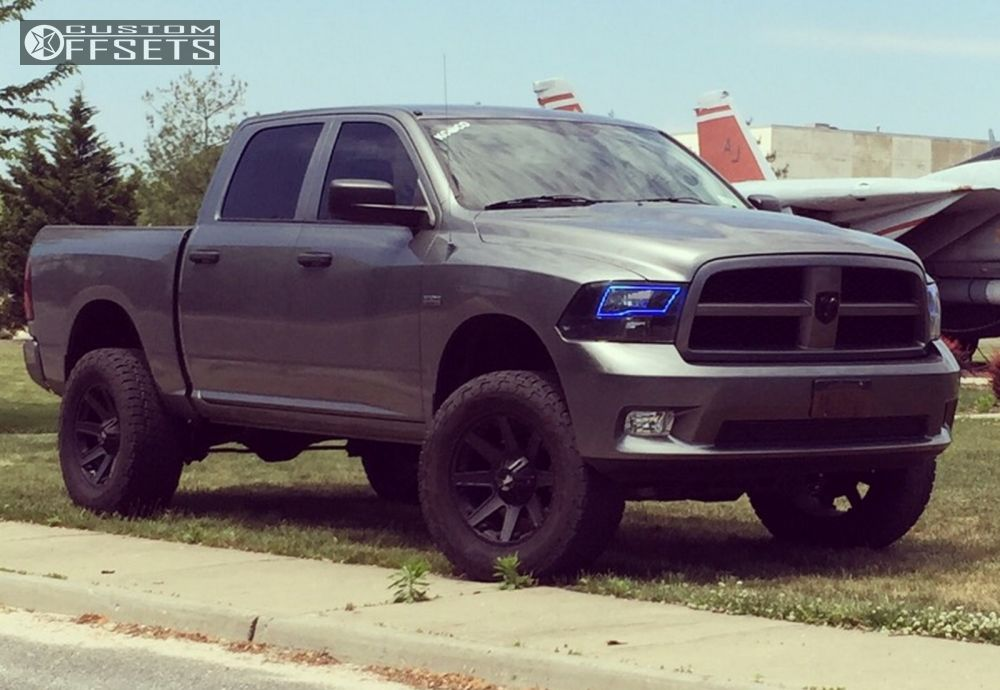 Wheel Offset 2012 Dodge Ram 1500 Aggressive 1 Outside Fender ...