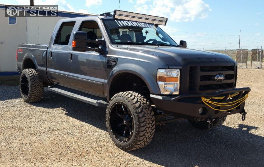 2008 ford f 250 super duty fuel nuts revtek suspension lift 45in. Black Bedroom Furniture Sets. Home Design Ideas
