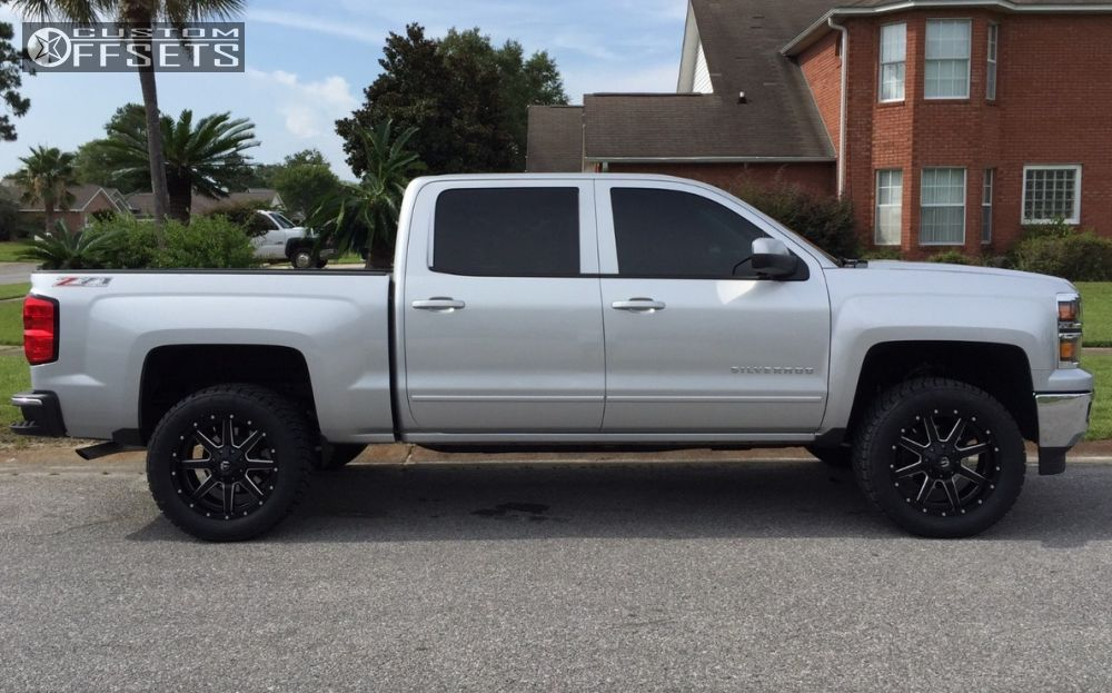 wheel offset 2015 chevrolet silverado 1500 slightly aggressive. Cars Review. Best American Auto & Cars Review