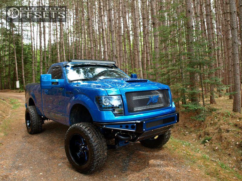 2 2013 F 150 Ford Suspension Lift 7 Hostile Knuckles Custom Super Aggressive 3