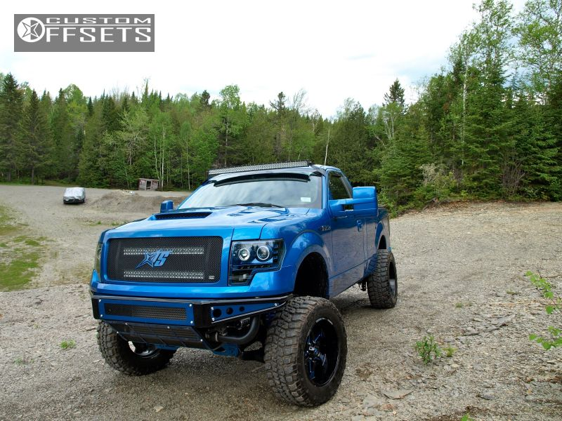 3 2013 F 150 Ford Suspension Lift 7 Hostile Knuckles Custom Super Aggressive 3