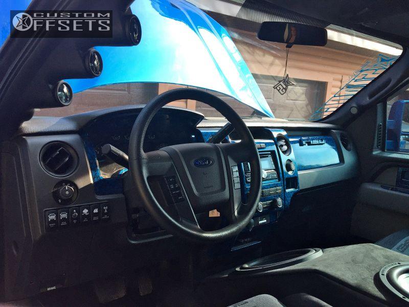 6 2013 F 150 Ford Suspension Lift 7 Hostile Knuckles Custom Super Aggressive 3