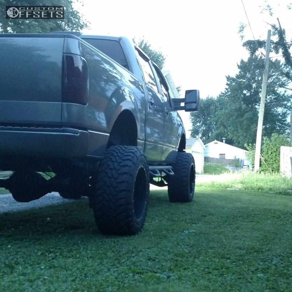 10 2007 F 150 Ford Suspension Lift 9 Fuel Maverick Black Super Aggressive 3 5
