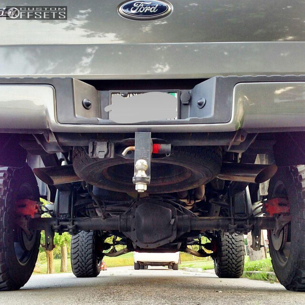 3 2007 F 150 Ford Suspension Lift 9 Fuel Maverick Black Super Aggressive 3 5