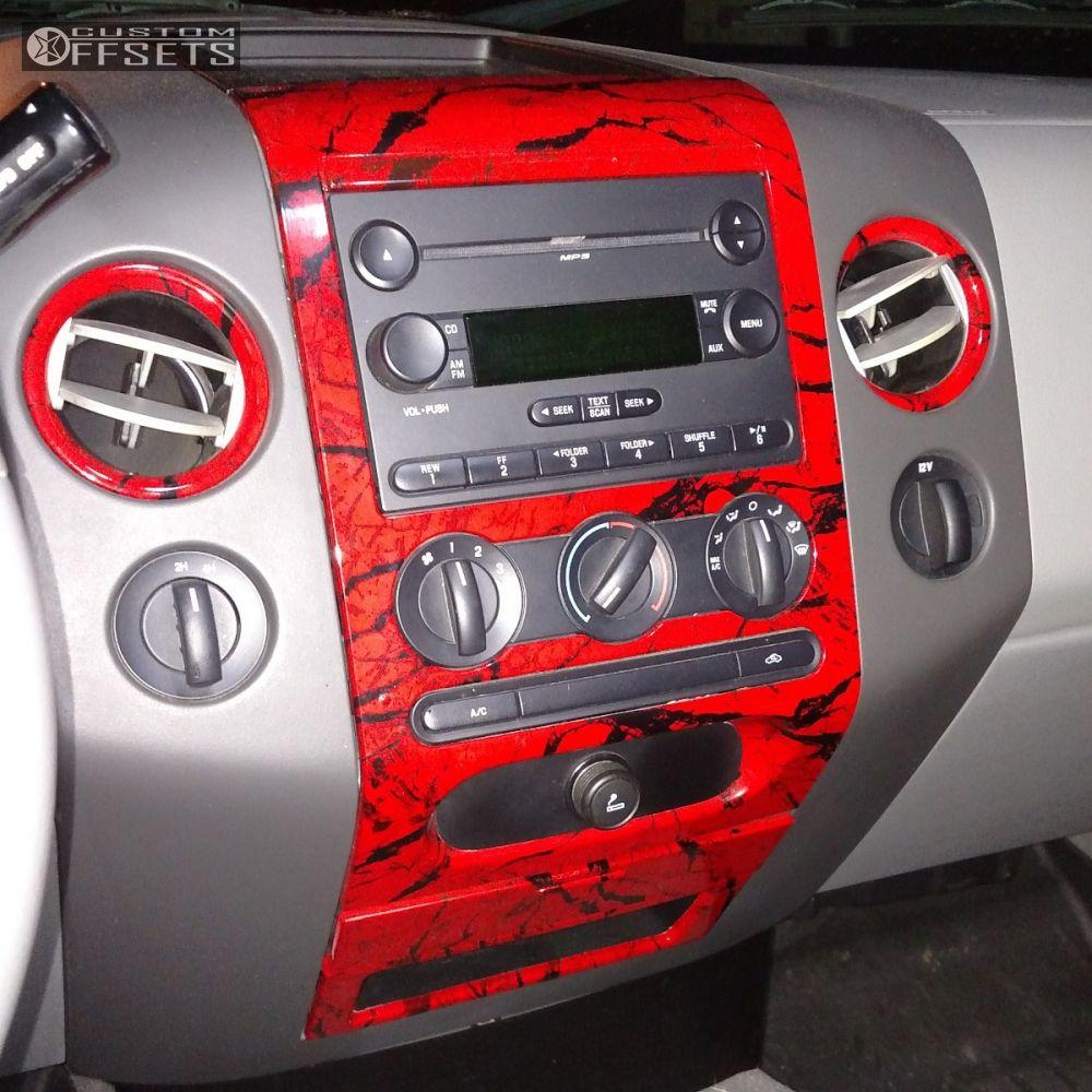 7 2007 F 150 Ford Suspension Lift 9 Fuel Maverick Black Super Aggressive 3 5