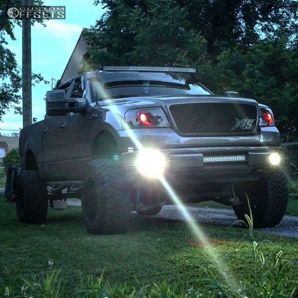 9 2007 F 150 Ford Suspension Lift 9 Fuel Maverick Black Super Aggressive 3 5