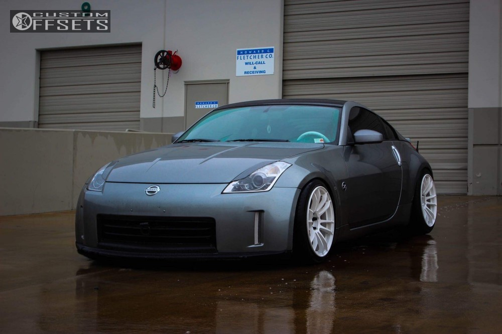 2006 Nissan 350z Gram Lights 57xtreme Bc Racing Coilovers