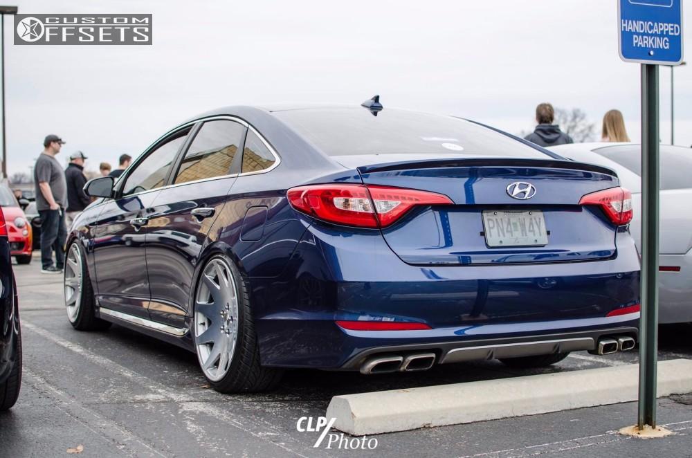 3 2016 Sonata Hyundai Coi Mrr Wheels Other Polished Hellaflush