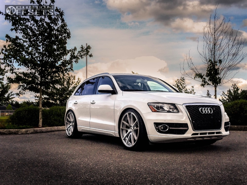 wheel offset 2012 audi q5 nearly flush coilovers. Black Bedroom Furniture Sets. Home Design Ideas