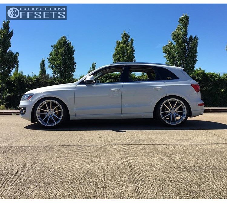 2012 Audi Q5 Rotiform Spf Hr Coilovers