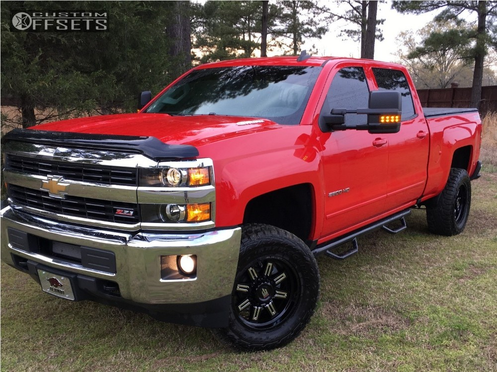 2016 chevrolet silverado 2500 hd truxx steel rough country. Black Bedroom Furniture Sets. Home Design Ideas