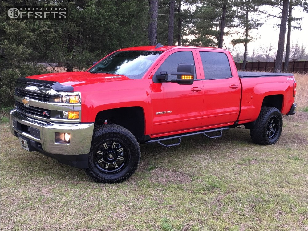 2016 chevrolet silverado 2500 hd truxx steel rough country leveling kit body lift. Black Bedroom Furniture Sets. Home Design Ideas