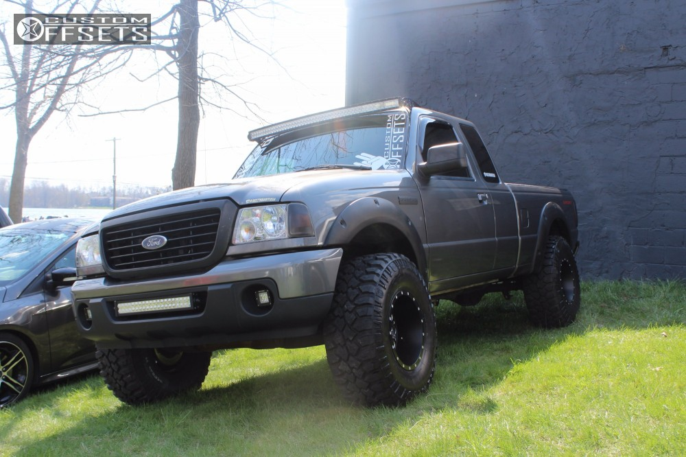 2008 ford ranger fuel revolver fabtech suspension lift 3in 1 2008 ranger ford suspension lift 3 fuel revolver black aggressive 1 outside fender mozeypictures Gallery
