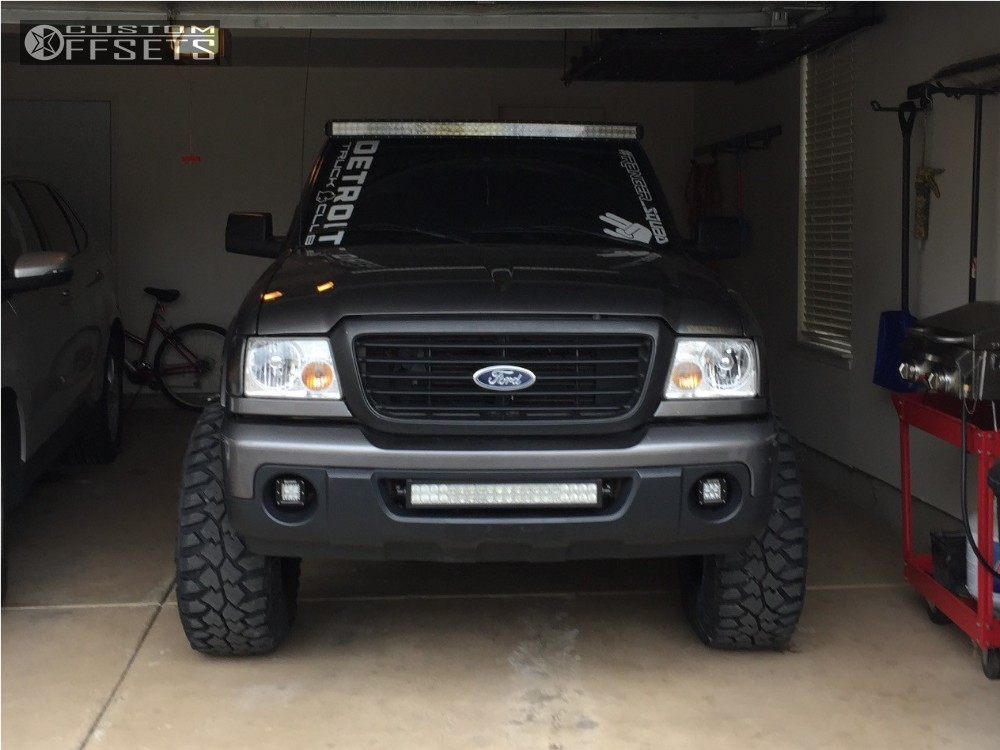 2008 ford ranger fuel revolver fabtech suspension lift 3in. Black Bedroom Furniture Sets. Home Design Ideas