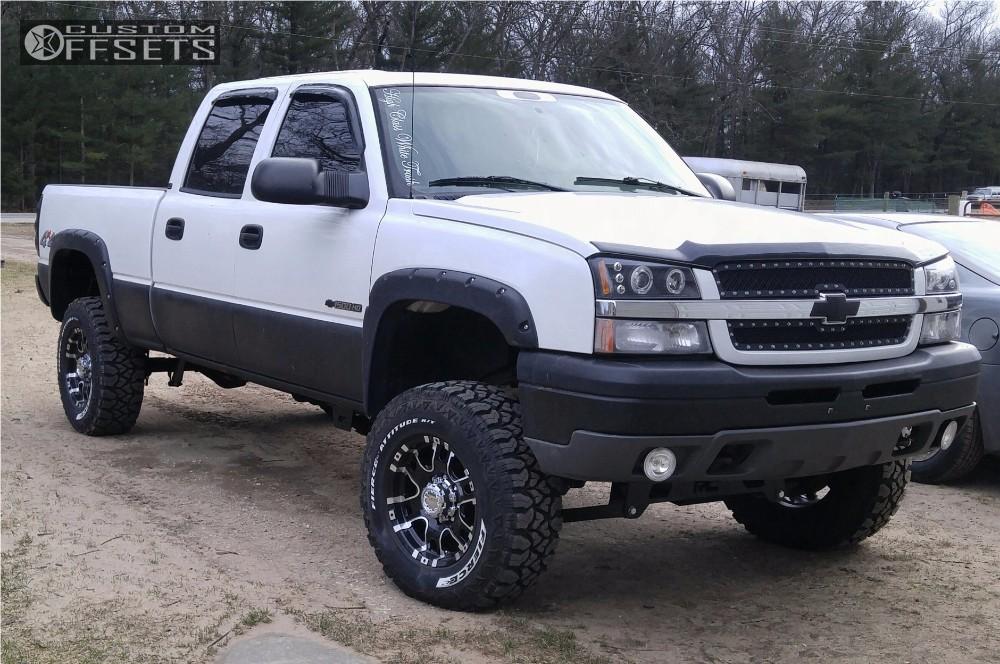 1 2005 Silverado 1500 Hd Chevrolet Suspension Lift 6 Ultra Baron Black Slightly Aggressive
