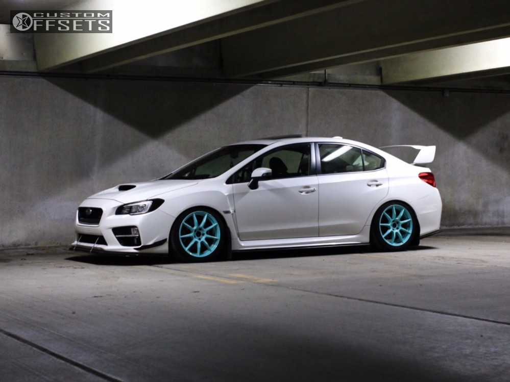 2015 subaru wrx sti enkei rsm9 isc coilovers. Black Bedroom Furniture Sets. Home Design Ideas