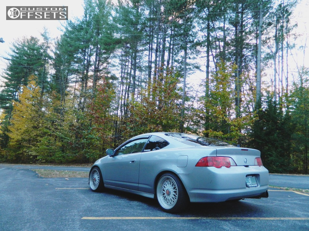 Wheel Offset Acura Rsx Nearly Flush Lowering Springs - Acura rsx lowering springs