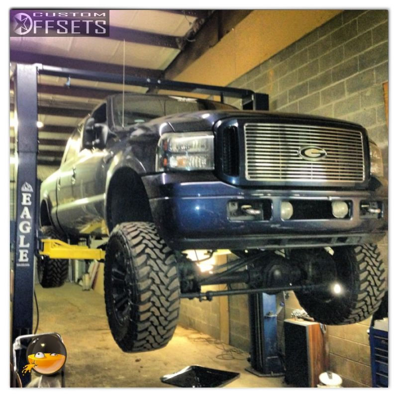 2005 Ford Super Duty Harley Davidson: Wheel Offset 2005 Ford F 250 Super Duty Suspension Lift 6