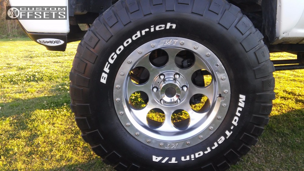 2000 Chevrolet Silverado 1500 Mickey Thompson Classic Lock Fabtech Suspension Lift 6 Custom Offsets