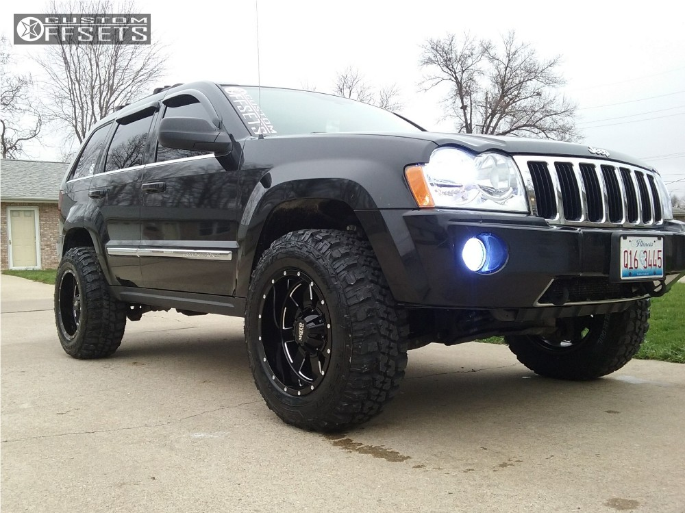 2005 jeep grand cherokee moto metal mo962 heavy metal suspension lift 35in. Black Bedroom Furniture Sets. Home Design Ideas