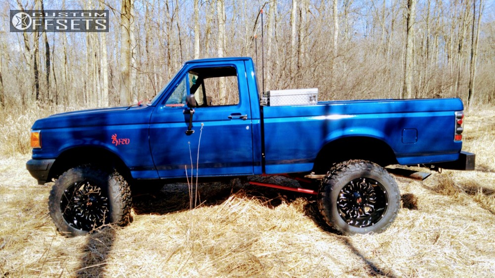 Ford F 150 Lifted >> 1990 Ford F 150 Scorpion Sc17 Autospring Suspension Lift 6in Body 3in