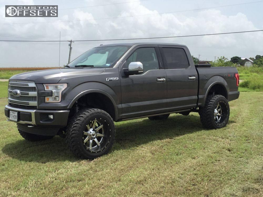 1 2015 F 150 Ford Suspension Lift 6 Fuel Maverick D262 Chrome Super Aggressive 3 5