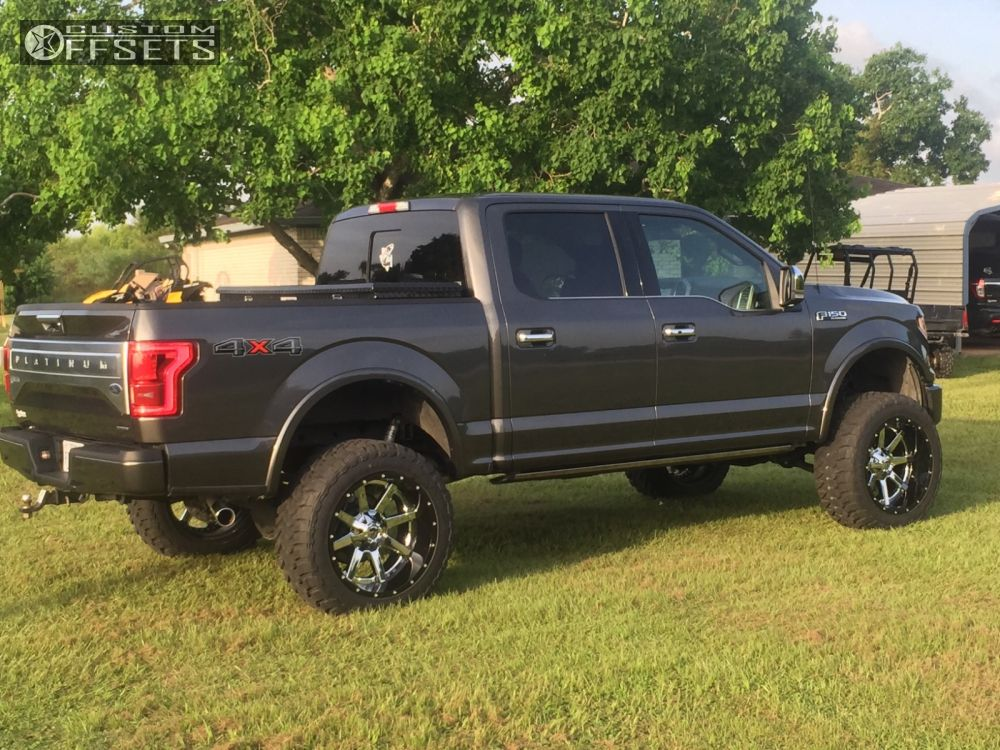 Lifted 2015 F150 >> 2015 Ford F 150 Fuel Maverick Bds Suspension Suspension Lift 6in