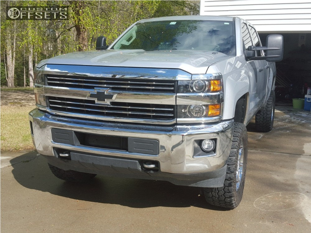3 2016 Silverado 2500 Hd Chevrolet Suspension Lift 3 Hostile Sprocket Chrome Slightly Aggressive