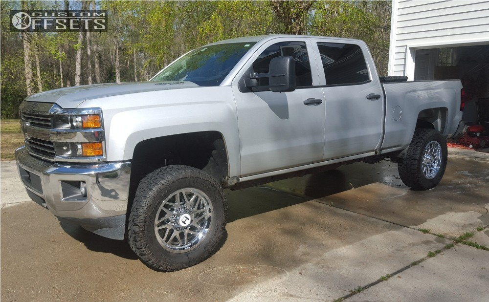 5 2016 Silverado 2500 Hd Chevrolet Suspension Lift 3 Hostile Sprocket Chrome Slightly Aggressive