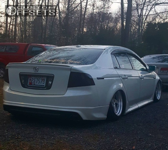 Acura Tl Zedd Sl Air Lift Performance Bagged - 2006 acura tl wheels