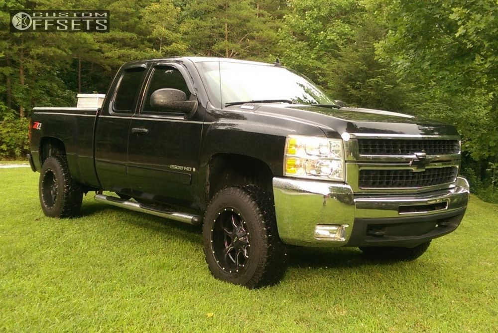 2008 chevrolet silverado 2500 hd moto metal mo970 leveling kit. Black Bedroom Furniture Sets. Home Design Ideas