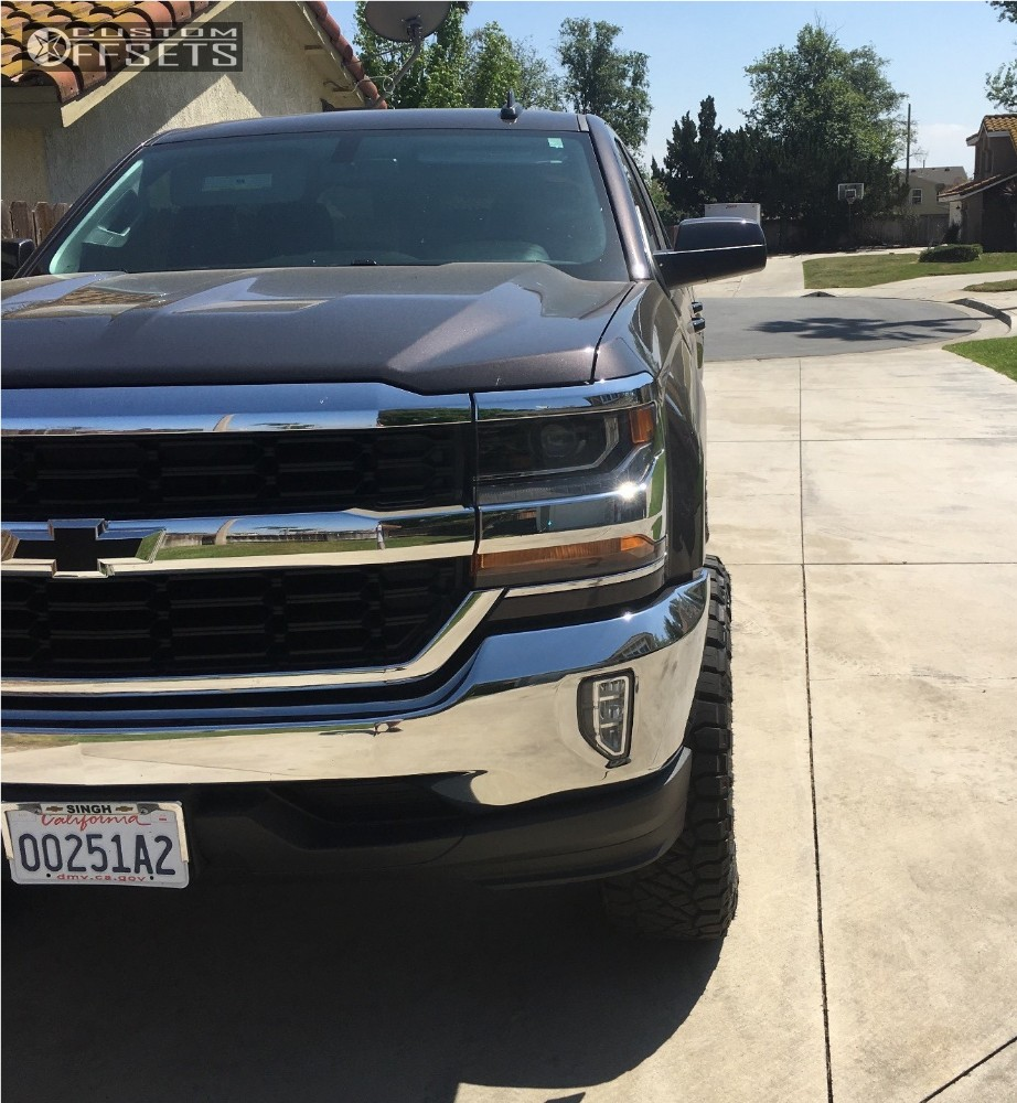 2016 Chevrolet Silverado 1500 Gear Alloy Big Block Maxtrac