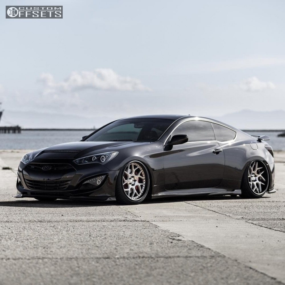 2016 hyundai genesis coupe avant garde f411 accuair bagged. Black Bedroom Furniture Sets. Home Design Ideas