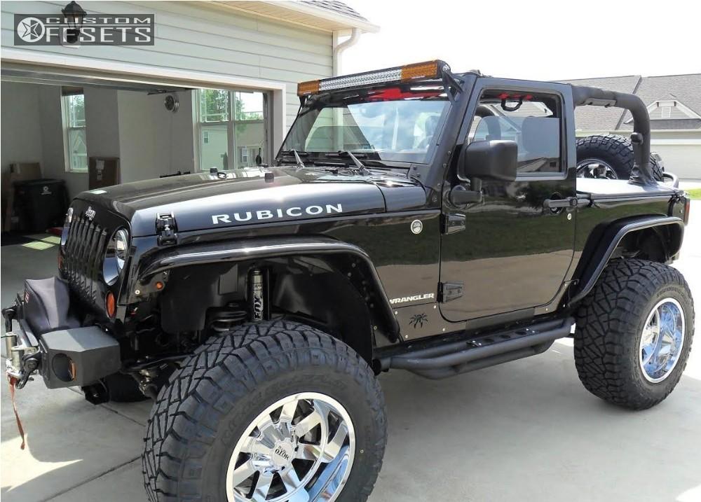 1 2008 Wrangler Jeep Suspension Lift 35 Moto Metal Mo962 Chrome