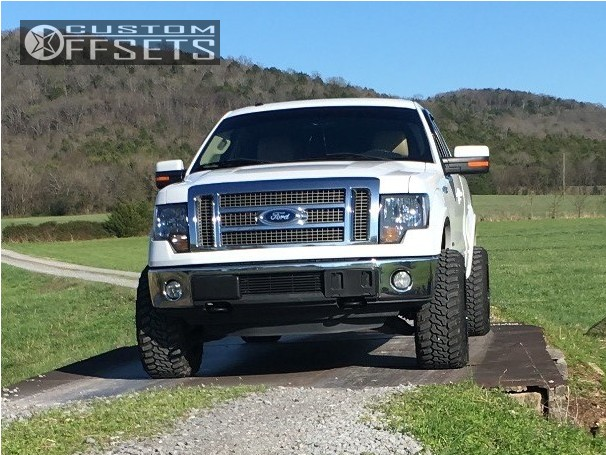 2 2011 F 150 Ford Leveling Kit Hostile Stryker Machined Black Super Aggressive 3 5