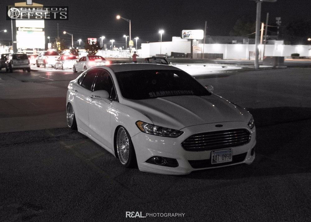 wheel offset 2013 ford fusion tucked bagged. Black Bedroom Furniture Sets. Home Design Ideas