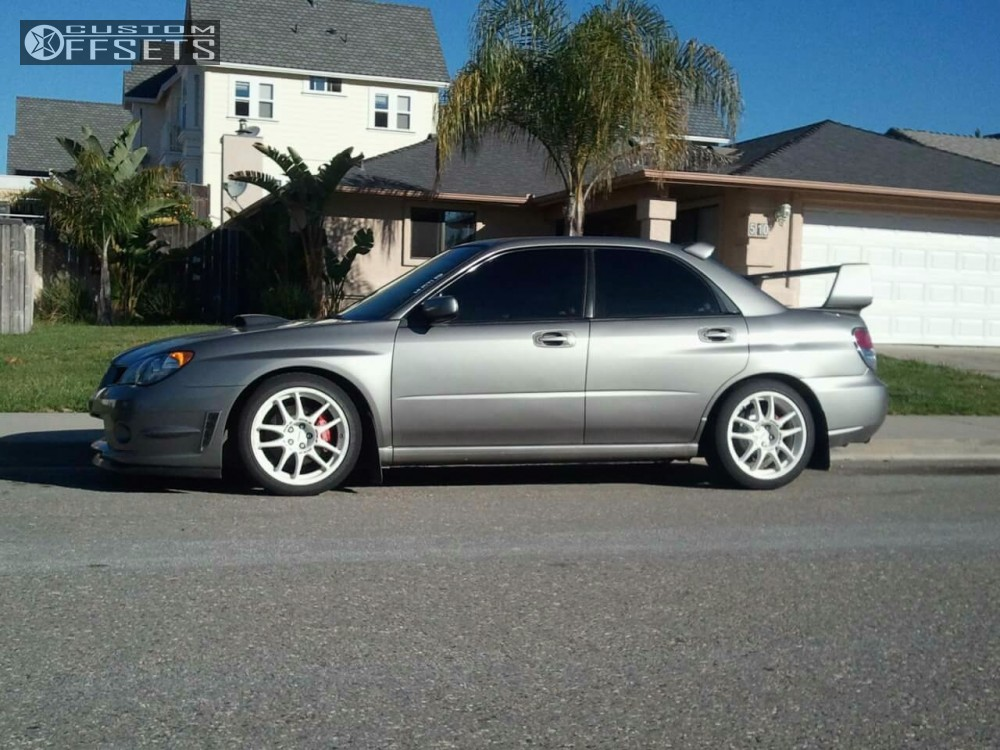 2007 subaru impreza work emotion cr kiwami tein coilovers. Black Bedroom Furniture Sets. Home Design Ideas