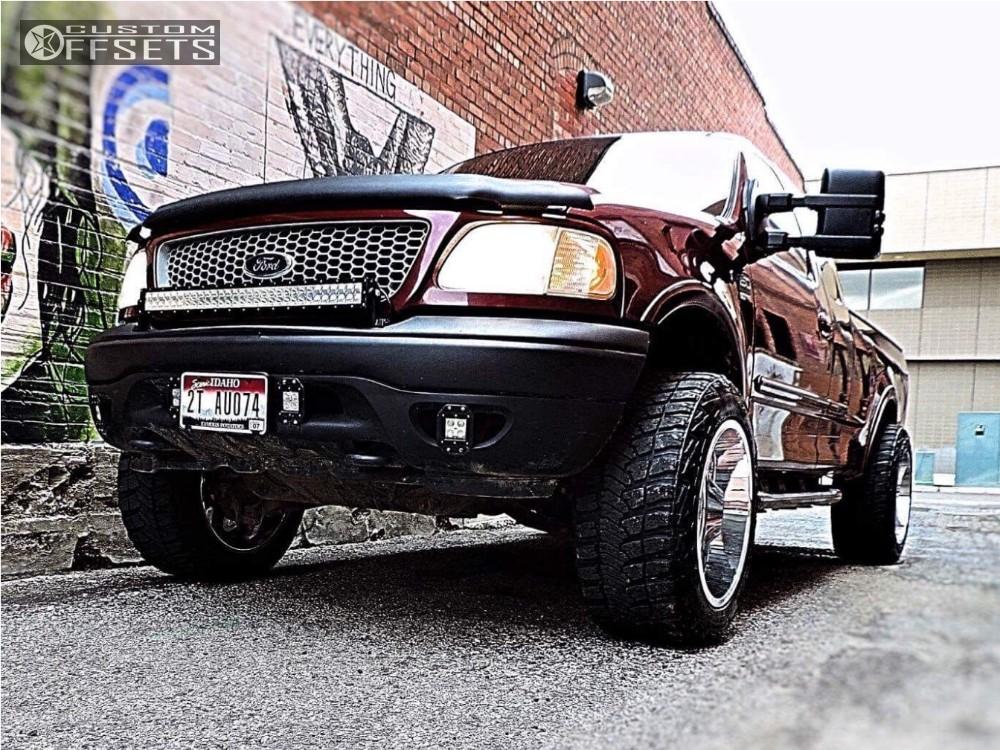 ... 12 1999 F 150 Ford Stock Moto Metal 962 Chrome Aggressive 1 Outside Fender ...