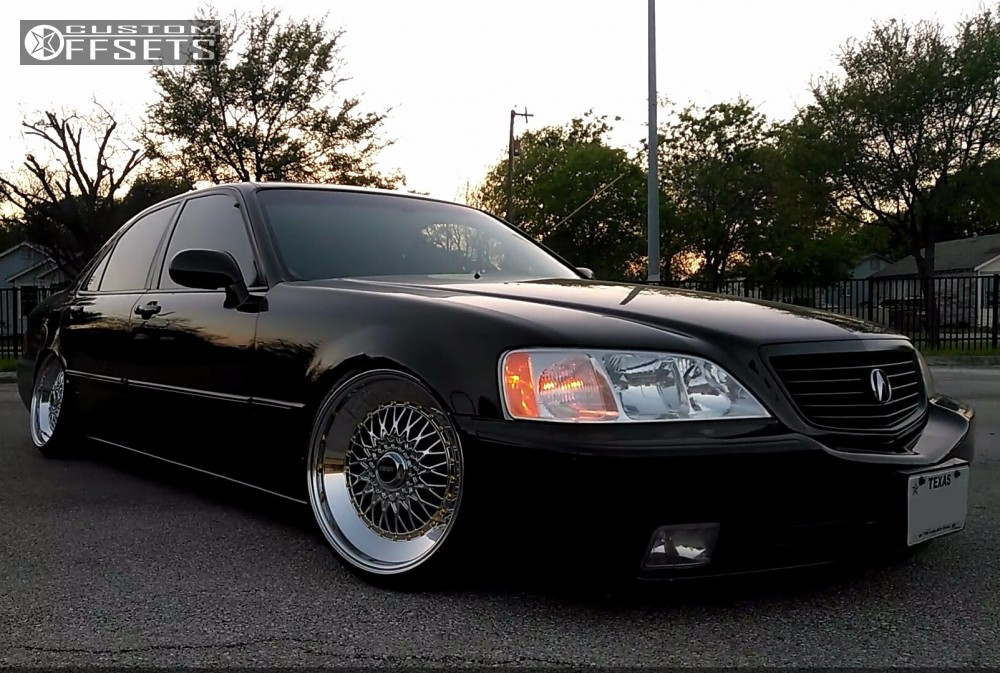 Wheel Offset Acura Rl Tucked Coilovers - Acura rl coilovers