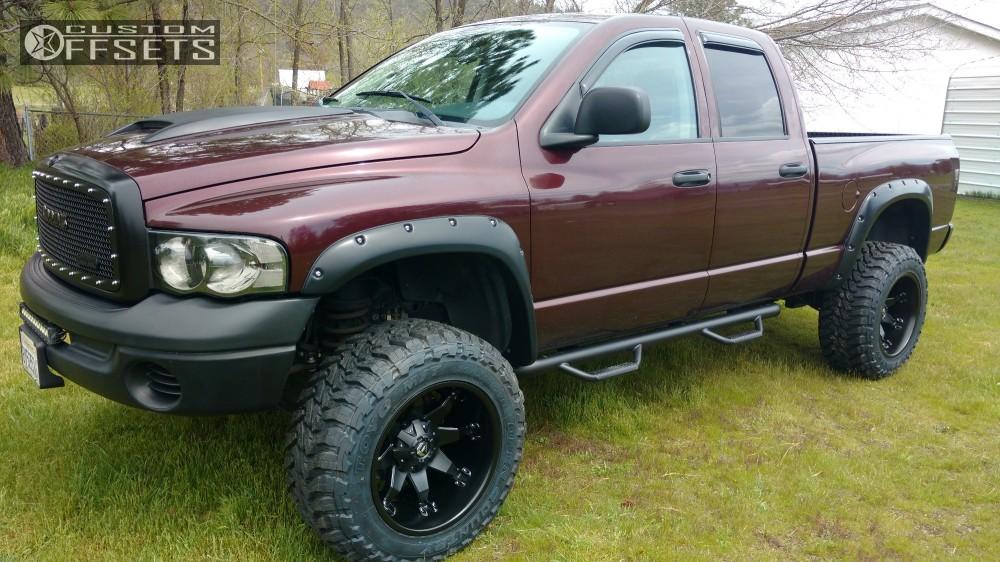 228644 1 2004 ram 2500 dodge suspension lift 45 fuel octane black super aggressive 3 5 - Dodge Ram 2500 44 2014