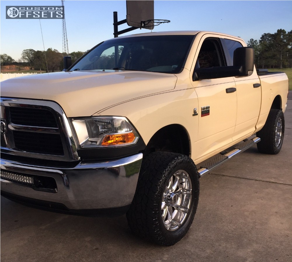 2011 Ram 2500 Xd Badlands Rough Country Suspension Lift 3in | Custom Offsets