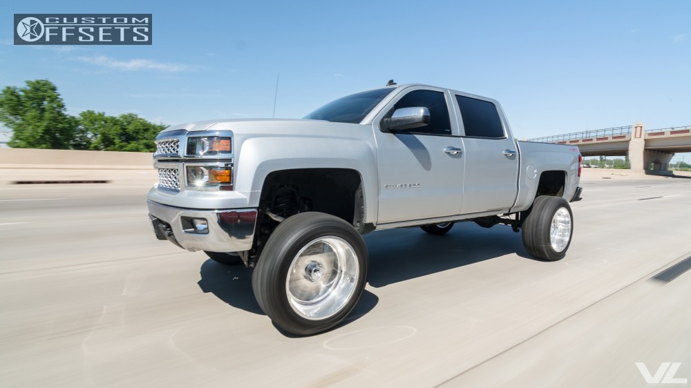 1 2014 Silverado 1500 Chevrolet Suspension Lift 9 American Force Trax Ss8 Polished Super Aggressive 3 5