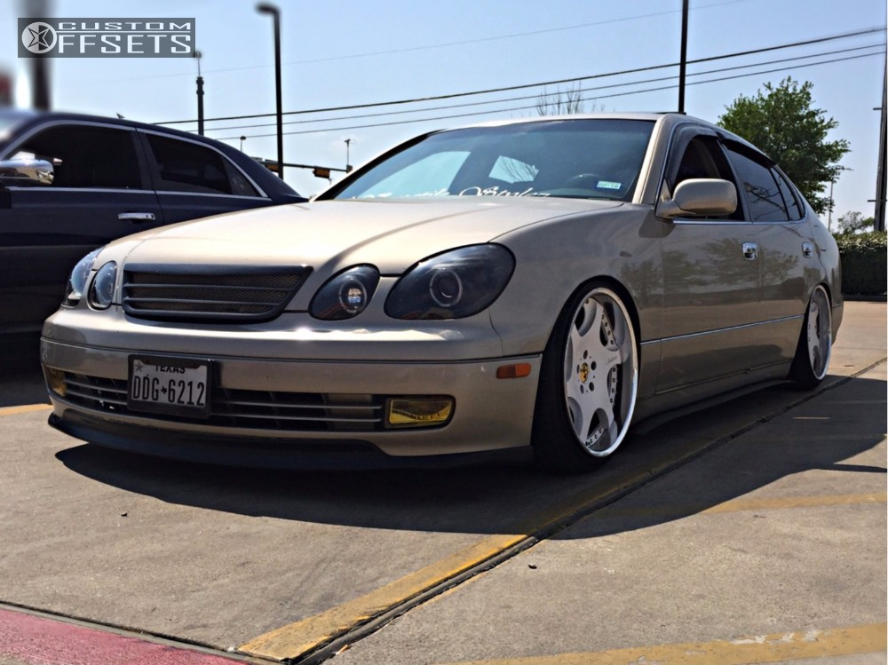 2000 Lexus Gs300 Weds 607d Bc Racing Coilovers